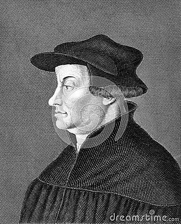 Huldrych Zwingli Editorial Photography