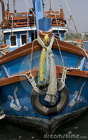 Hull of fishing boats
