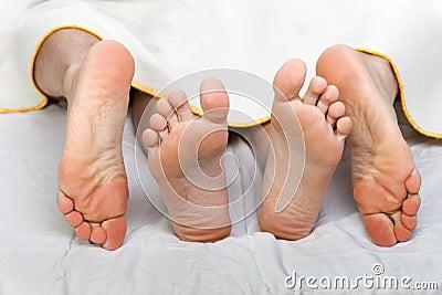 Human bed sex