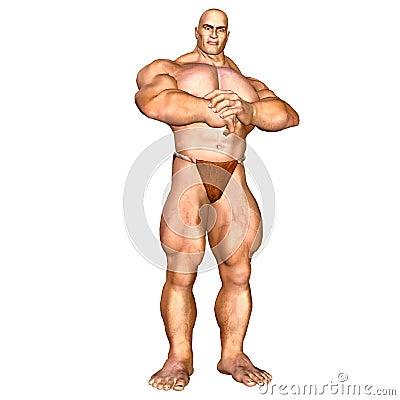 Human Body - Muscular Man