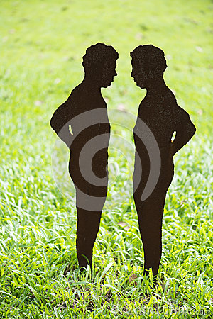 Free Human Body Silhouette Stock Photography - 27793272
