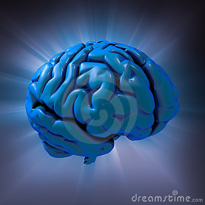 Human brain abstract