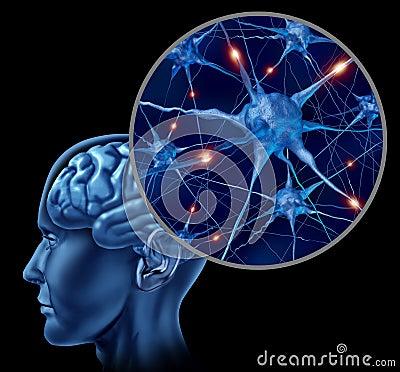 Human brain medical symbol
