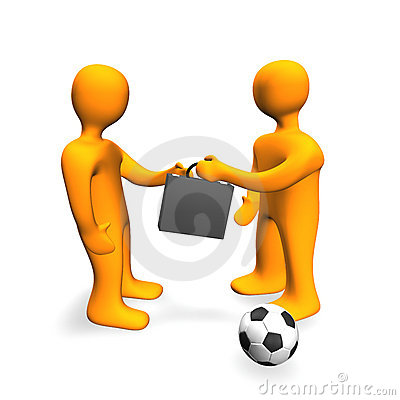 Human Bribe Deal Football 3D