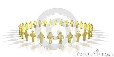Human Circle