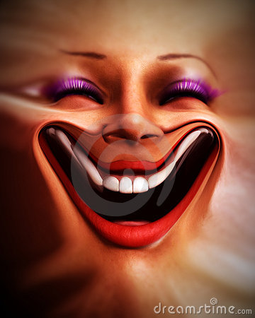 Human Distorted Face 6