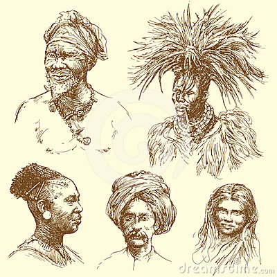 Human diversity - portraits