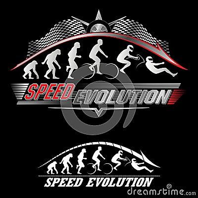 Human evolution of speed