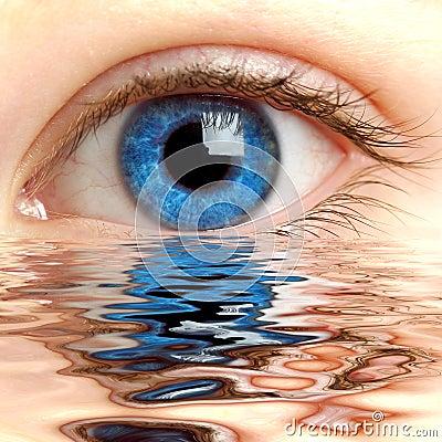 Human Eye Royalty Free Stock Photos - Image: 2109618