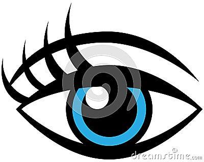Human Female Eye