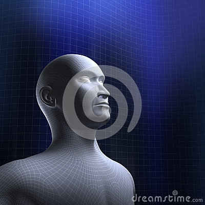 Human head wire mode