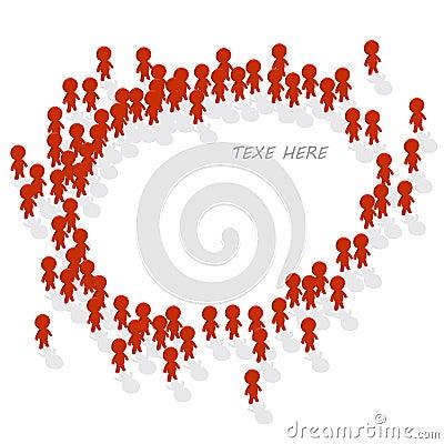 Human icon group