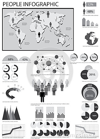 Human info graphic