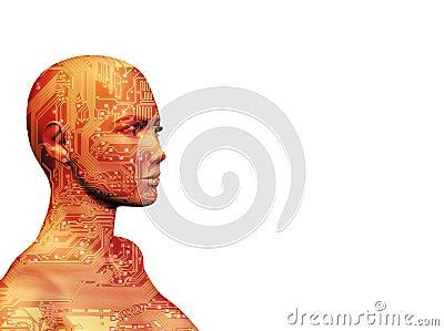 Human Machine Red