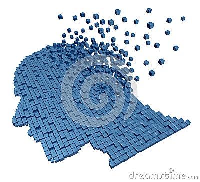 Free Human Memory Loss Royalty Free Stock Images - 27090929