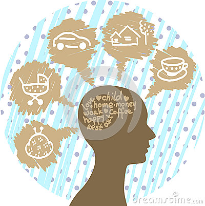 In human mind