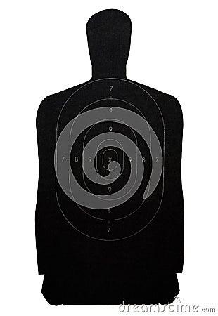 Human representation target