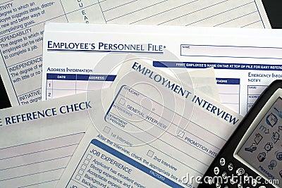 Human Resource Forms & PDA