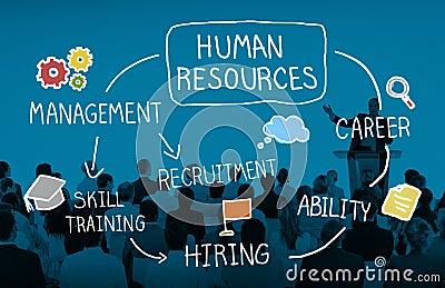 Human Resource Hiring Recruiter Select Career Concept Stock Photo