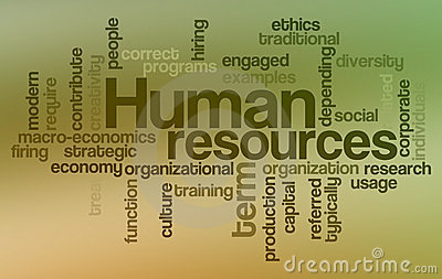Human resources - Word Cloud
