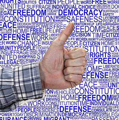 HUMAN RIGHTS- Thumb Up
