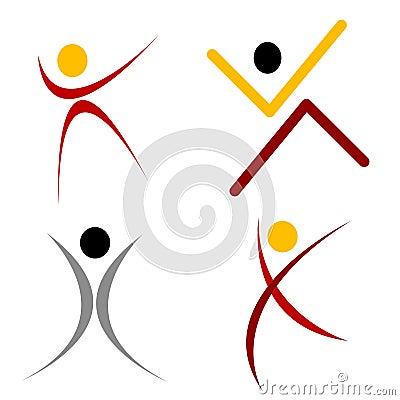 Human Shape Logo