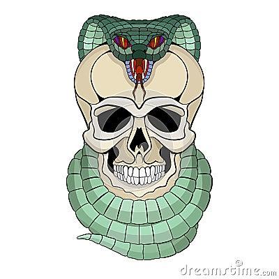 snake with human head