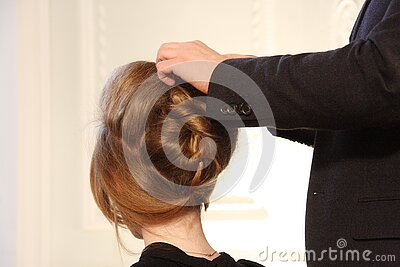 Human's Brown Hair Free Public Domain Cc0 Image