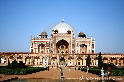 Humayun s Tomb, New Delhi Editorial Photo