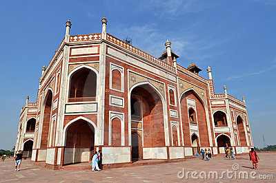 Humayun Tomb, India. Editorial Stock Image