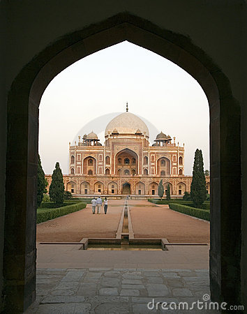 Humayuns Tomb in Delhi - India