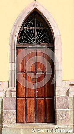 Humble Church Door