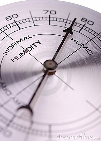 Free Humidity Meter Royalty Free Stock Image - 8919776