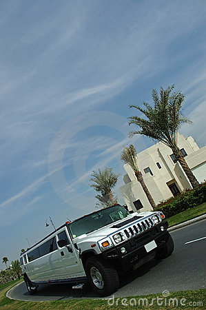 Free Hummer Limousine Stock Images - 2964704