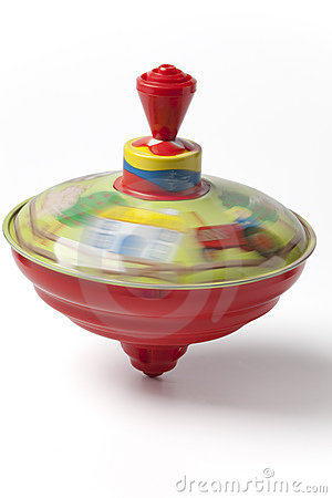 Free Humming Or Spinning Top In Motion Stock Photo - 12616190