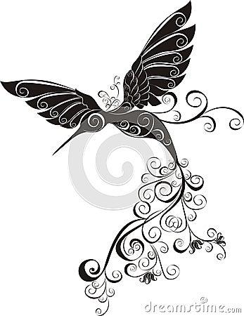 Hummingbird. Vector illustration