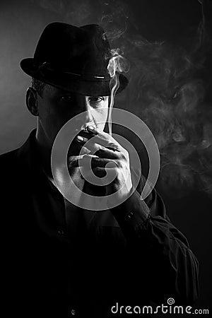 Humo del cigarro