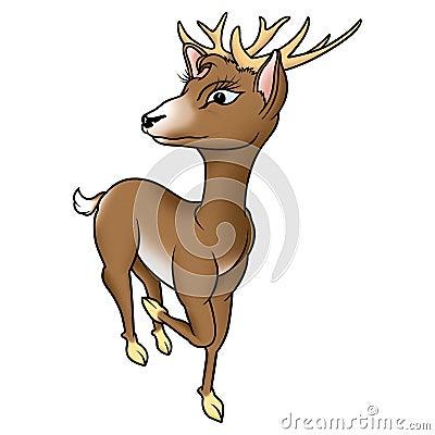 Humorous buck