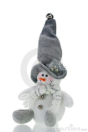 Humorous Christmas Decoration Snowman