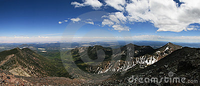 Humphreys Peak panorama