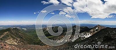Humphreys Peak panorama