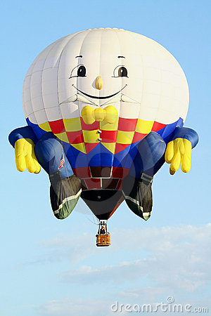 Humpty Dumpty Hot Air Balloon Editorial Stock Image