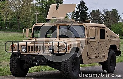 Humvee Editorial Stock Image