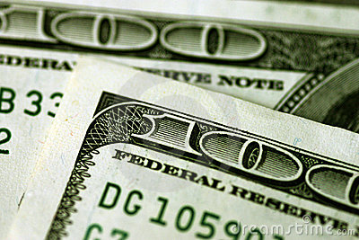 Hundert Dollarscheine