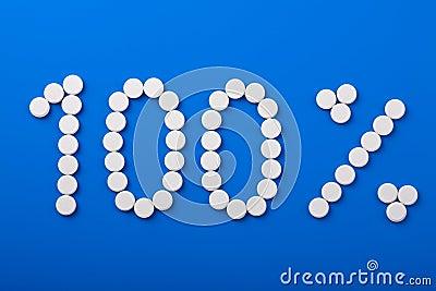 Hundert-Prozent-Pillen