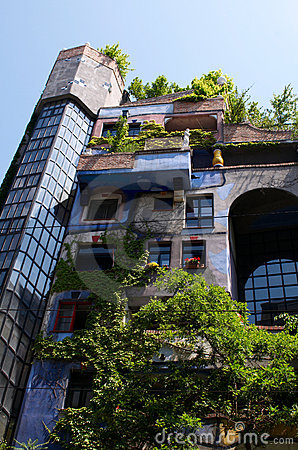 Hundertwasser apartment House