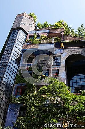 Hundertwasser apartment House