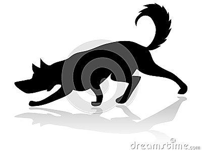 Hundeschattenbild