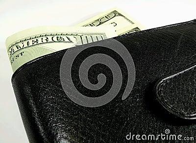 Hundra en plånbok