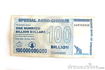Hundred billion dollar note